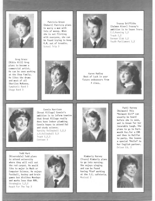 1986 | Cobequid Educational Centre Yearbooks