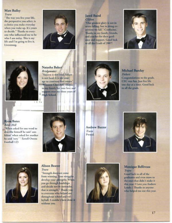2007 | Cobequid Educational Centre Yearbooks